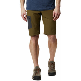 Columbia Triple Canyon Pantalones Cortos Hombre, new olive/shark